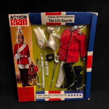 ACTION MAN - FAMOUS BRITISH UNIFORMS - THE  LIFE GUARDS - CARDED